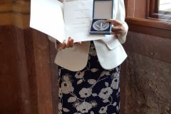 Ocenění ministra školství - M.Iliadisová